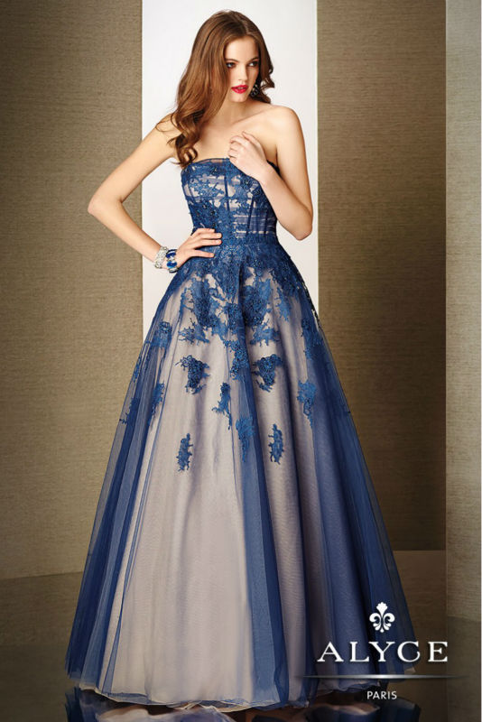 elegant-blue-wedding-strapless-dress-qnubheri